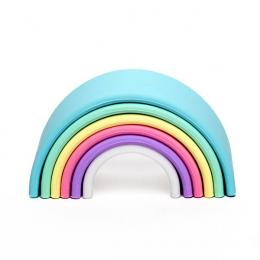 Arc-en-ciel en silicone Pastel Dëna Toys