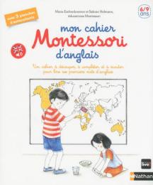 Mon cahier Montessori d'anglais Nathan