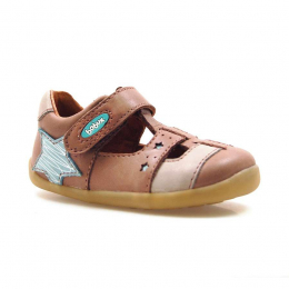 Bobux Step-Up - Starbright sandal Praline