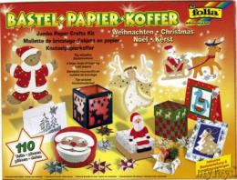 Mallette de bricolage Noël - Folia