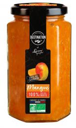 Confiture de mangues bio 300 gr Lucien Georgelin