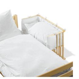 Tour de lit blanc pour lit cododo
