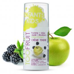 Crème tendre visage Pomme et mûre BIO Toofruit