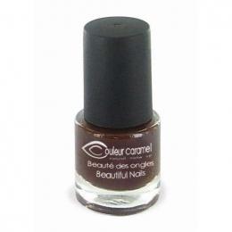 Vernis à Ongles n°55 -Brun velours - Couleur Caramel