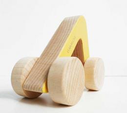 Voiture en bois - Triangle - Lullalove
