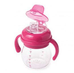 Gobelet anti-fuite bec souple 150ml Pink Oxo Tot