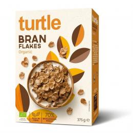 Céréales Turtle Branc flakes 375 gr