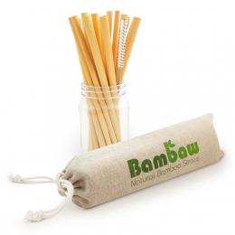 Pailles en bambou - 12 unités - Bambaw