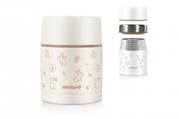 Thermos aliments isotherme 600ml Lapin Miniland