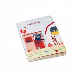 Livre puzzle cartonnée Farm & co Lilliputiens