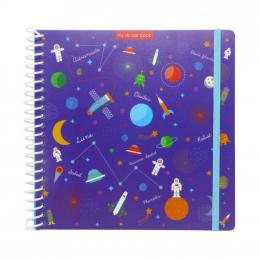 Sticker book - Espace - Majolo