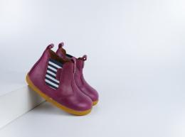 Chaussures Bobux - Step up - Jodphur Boysenberry Jester