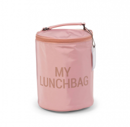 Lunchbag Sac isotherme Rose cuivre Childhome