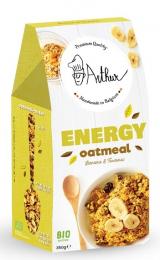 Granola porridge BIO Energie banana Turmeric Arthur