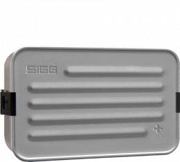 Boîte repas alu L avec insert silicone - Sigg