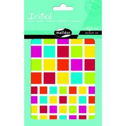 Stickers - Initial - Carrés - Maildor