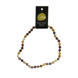 Mokaïte  - Collier de pierres perles - Nia
