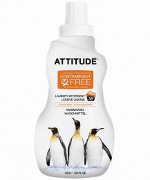 Lessive liquide écologique zeste d'agrumes  (Attitude)
