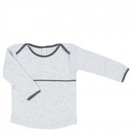 T-shirt manches longues en coton Fiji - Soft baby blue - Koeka