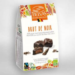 Chocolat brut de noir 100g Belvas