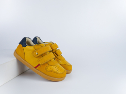 Chaussures Bobux - I-Walk - Riley Chartreuse + Navy