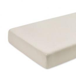 Drap housse matelas parc 75x100 cm beige Bemini