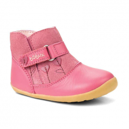 Bobux Step-Up: Sweet heart bright pink