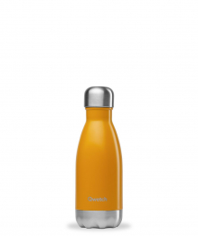 Bouteille Isotherme - 260ml - Jaune safran - Qwetch