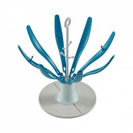 Egoutte-biberon Flower pliable Bleu Beaba