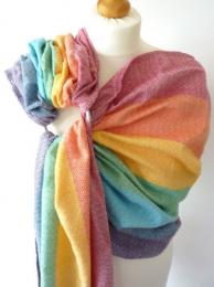 Ring sling Light Rainbow Girasol