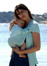 Porte-bébé Sling - SUKKIRI - Menthe