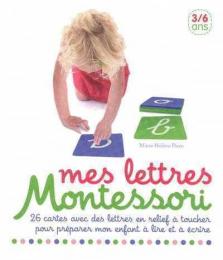 Mes lettres Montessori - 26 cartes en relief Nathan