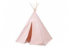 Tipi Phoenix - White bubble/Misty pink - Nobodinoz