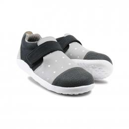 Chaussures Bobux - Kid+ - Aktive plus smoke and white plus