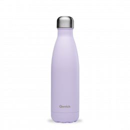 Bouteille Isotherme - 500ml - Pastel Lilas - Qwetch