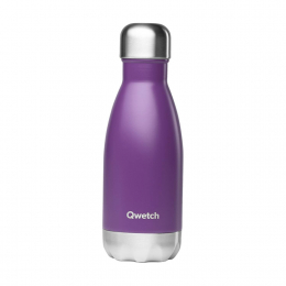 Bouteille Isotherme - 260ml - Pourpre - Qwetch