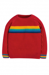 Pull Tricoté Caleb Cable Frugi