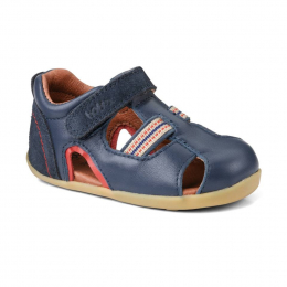 Bobux Step-Up: intrepid sandal - Navy