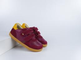 Chaussures Bobux - I-Walk - Riley Boysenberry + Chartreuse
