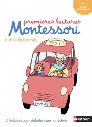 Mon coffret premières lectures Montessori - Le taxi de mamie - Nathan