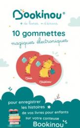 10 gommettes Bookinou