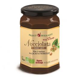 Pâte à tartiner cacao et noisettes BIO SANS LAIT - 700g - Nocciolata