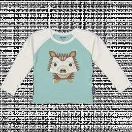 T-shirt en coton bio RAGLAN HÉRISSON Coq en pâte