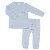 Pyjama  - Moose ( garçons ) -Soft Blue - Koeka