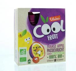Gourdes de fruits Pomme et passion Vitabio