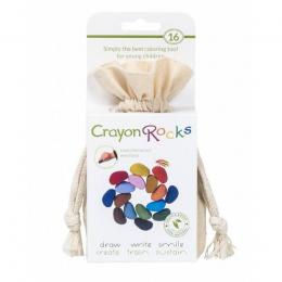 Crayons en cire soja - 16 couleurs Muslin - Crayon Rocks