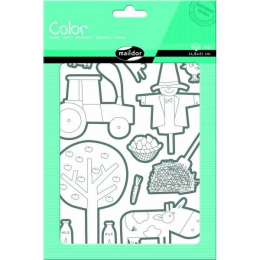 Stickers - Color - Ferme - Maildor