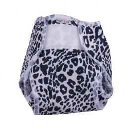 Culotte de protection popowrap - Noir et blanc - Popolini