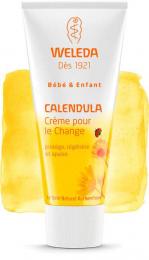 Baume Crème pour le change Calendula - Weleda