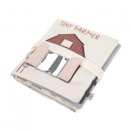Livre d´éveil en tissu Tiny Farmer Lassig